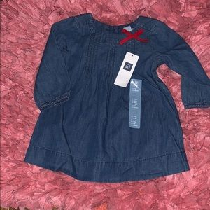 A denim dress